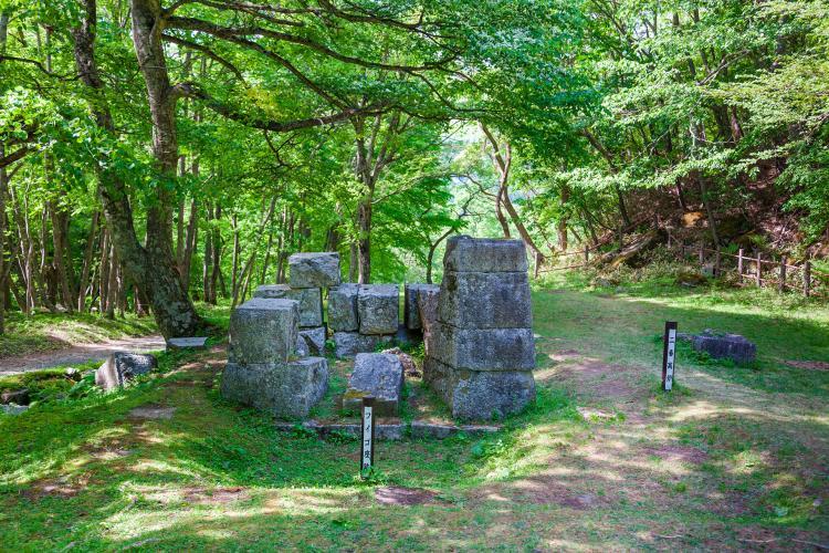 【世界遺産】橋野鉄鉱山の洋式高炉跡