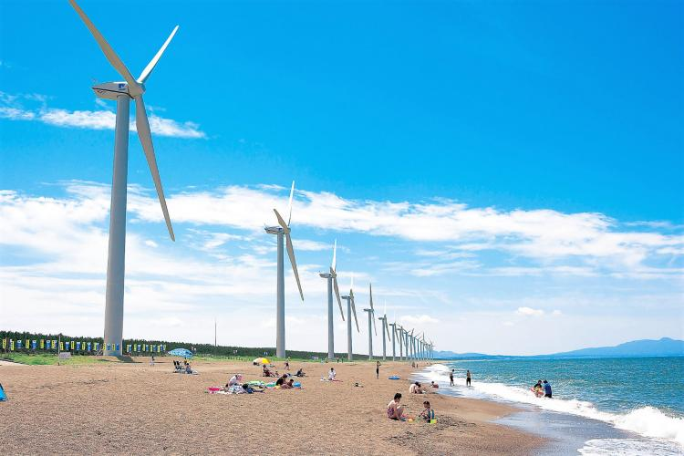 釜谷浜海岸