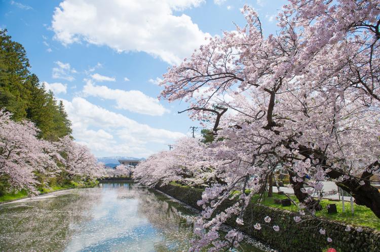 米沢城(松が岬公園)