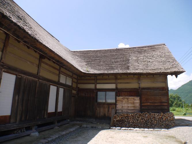 前沢曲家集落(南会津町前沢伝統的建造物群保存地区)