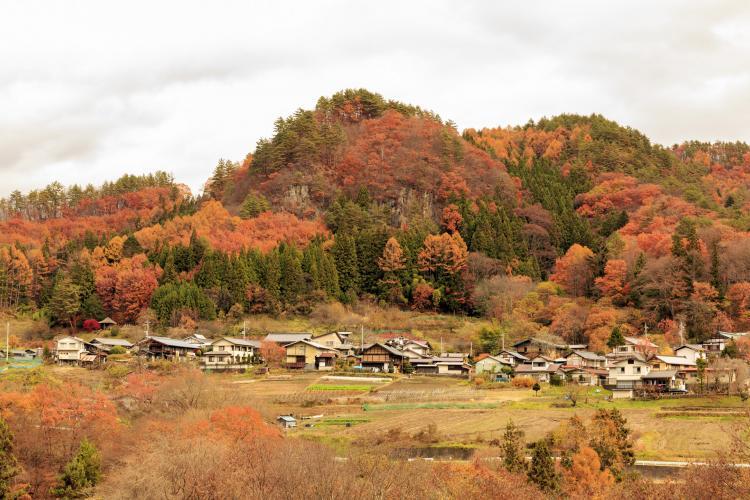 中之条町六合赤岩(伝統的建造物群保存地区)