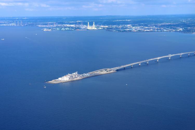 海ほたるパーキングエリア(東京湾アクアライン)