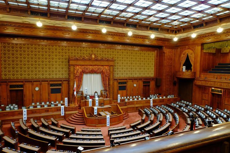 国会議事堂参議院