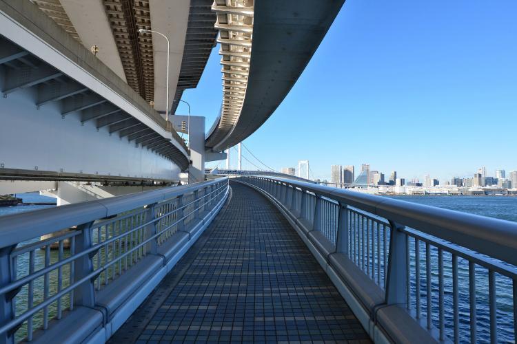 レインボーブリッジ(遊歩道)