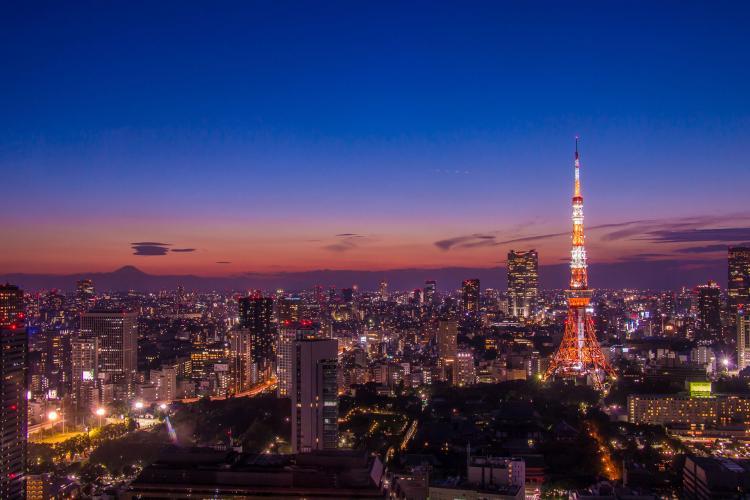 世界貿易センタービル夜景