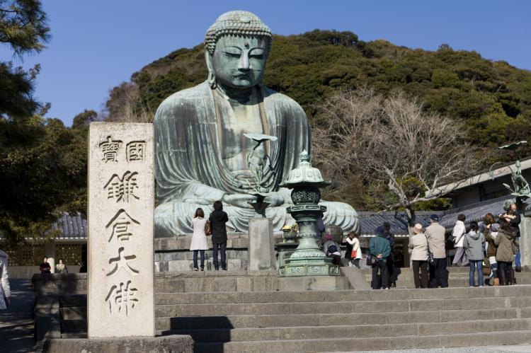 鎌倉大仏(高徳院):鎌倉