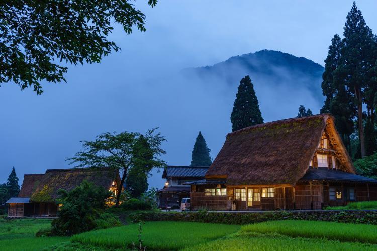 菅沼合掌造り集落(伝統的建造物群保存地区)