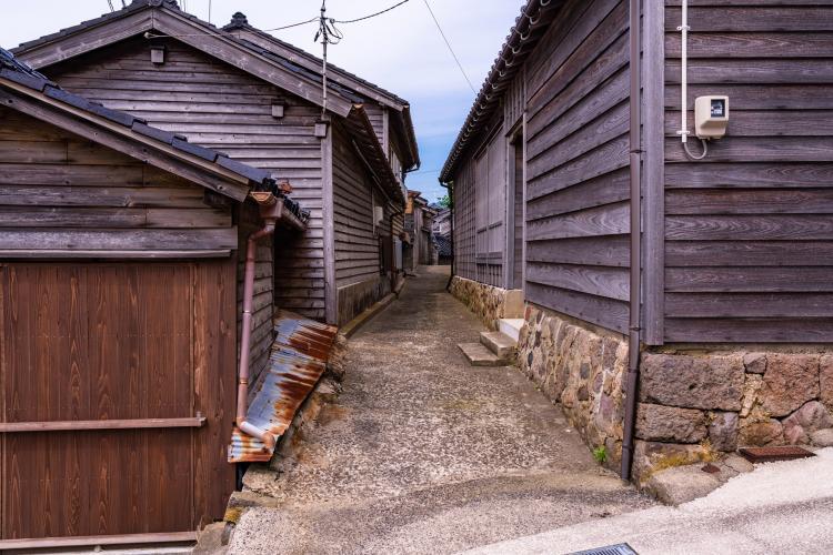 黒島地区伝統的建造物群保存地区