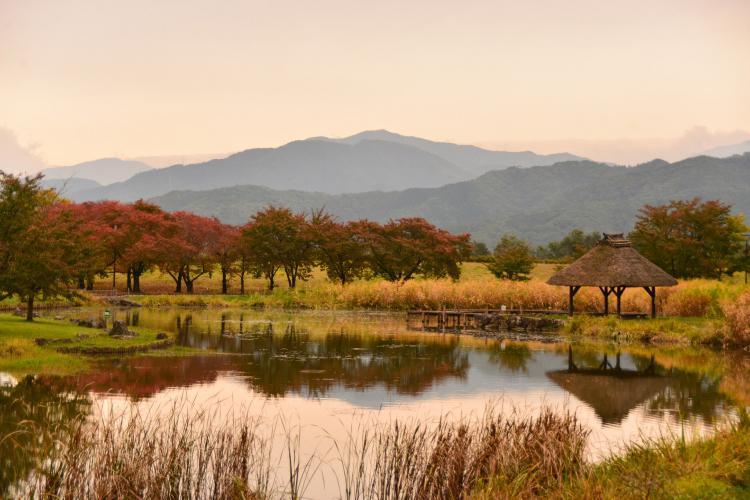川中島古戦場史跡公園(八幡原史跡公園)