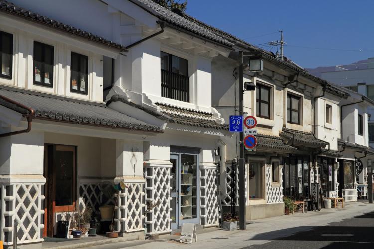松本城周辺商店街(縄手通り・中町通り)