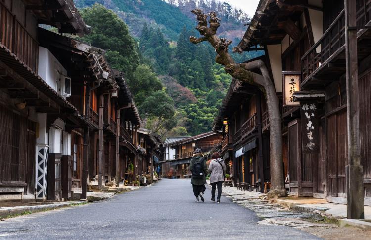 妻籠宿(伝統的建造物群保存地区)