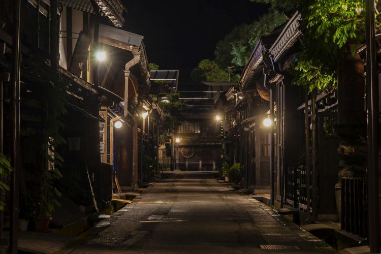 高山市三町(飛騨高山)伝統的建造物群保存地区