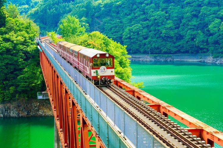 奥大井湖上駅(大井川鐵道)