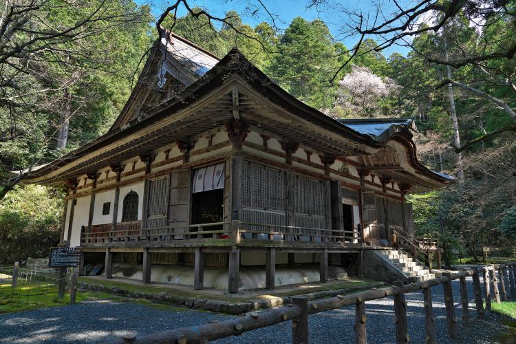 釈迦山 百済寺(湖東三山)