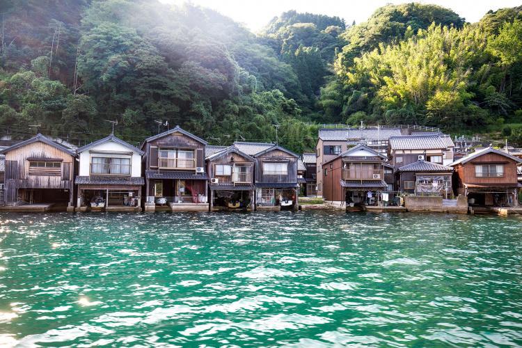 伊根湾舟屋群(伝統的建造物群保存地区)