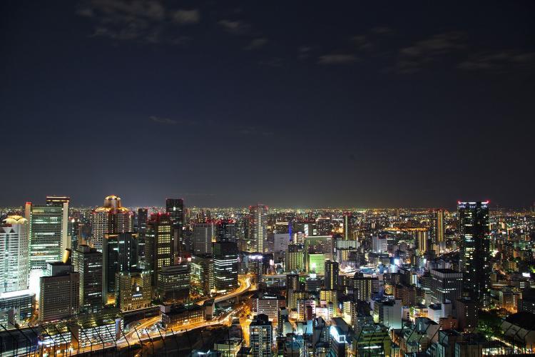 梅田スカイビル空中庭園展望台