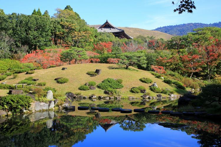依水園(奈良公園)