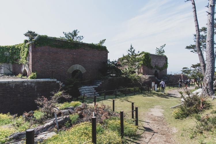 友ヶ島(由良要塞)