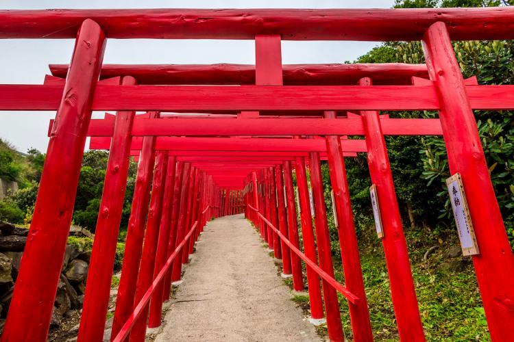 元乃隅神社(元乃隅稲成神社)