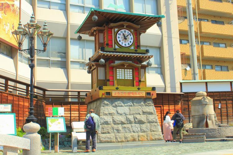 カラクリ時計(放生園)