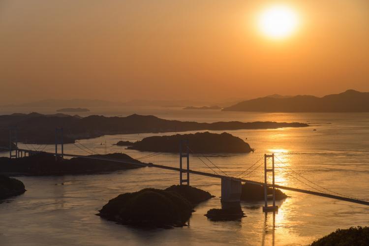 亀老山展望台(しまなみ海道)