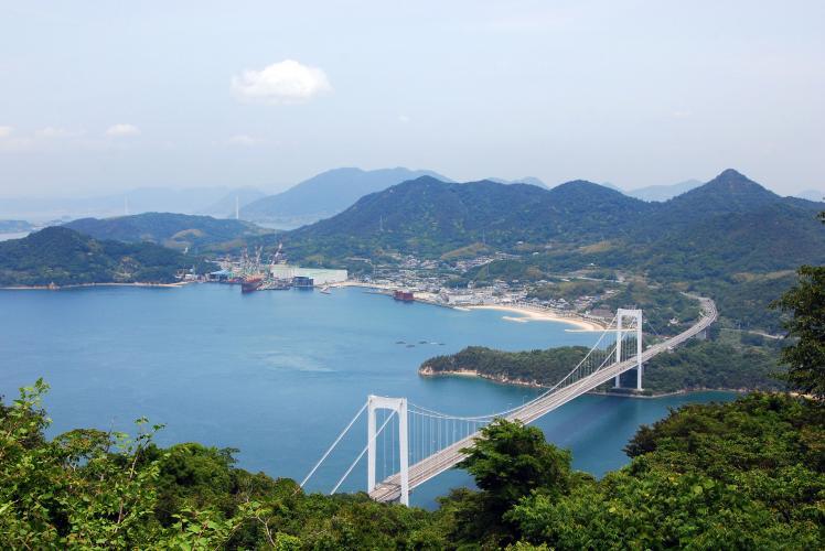 カレイ山展望台(しまなみ海道)