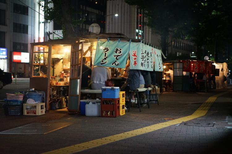 屋台横丁(天神・舞鶴付近)