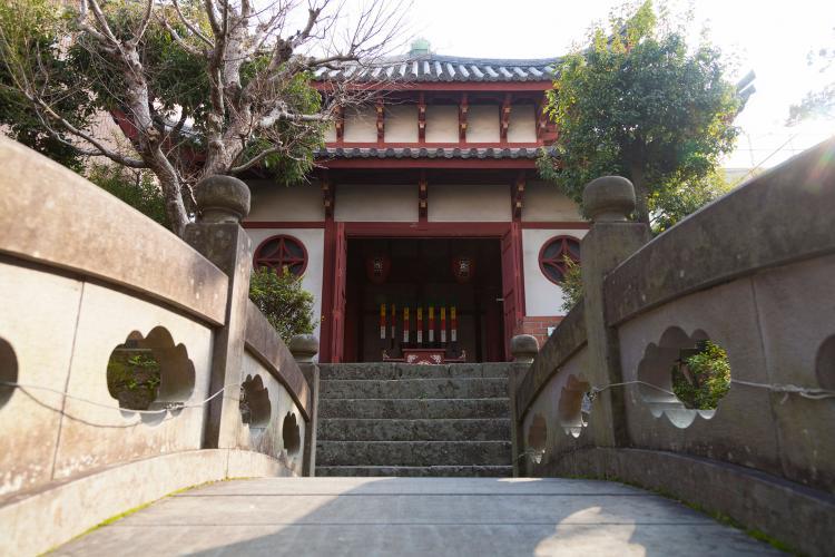 唐人屋敷跡