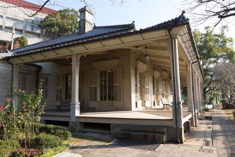 長崎市東山手地区(伝統的建造物群保存地区)