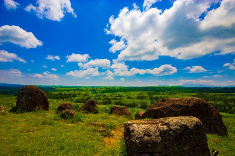押戸石の丘