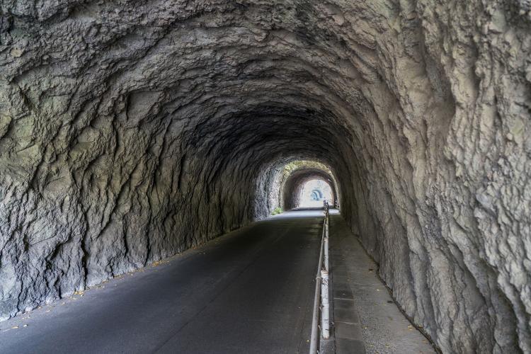 耶馬渓(青の洞門)